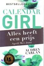 Cover: Alles heeft een prijs ( Calender girl april/mei/juni) - Audrey Carlan