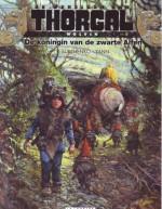Cover: De koningin van de zwarte alfen - Wolvin,De werelden van Thorgal