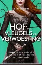 Cover: Hof van Doorns deel 3, Hof van vleugels en verwoesting - Sarah J.Maas