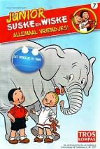 Cover: Jagers verjagen/ voederplankje - Junior Suske en Wiske  bijlage troskompas