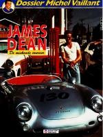 Cover: James dean, de miskende coureur - Michel vaillant (dossier)
