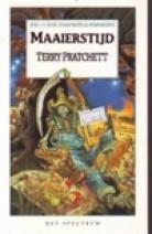 Cover: Maaierstijd, deel 11 van de schijfwereld - Terry pratcett