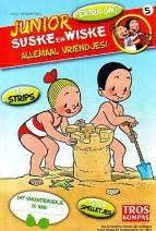 Cover: Piraten op zee - Junior Suske en Wiske  bijlage troskompas