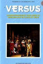 Cover: Versus nr 92 23e jaargang 2010 - 1