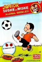 Cover: Voetbal/ spikes - Junior Suske en Wiske  bijlage troskompas