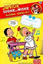 Cover: Wereldbol/hamsterwagen - Junior Suske en Wiske  bijlage troskompas