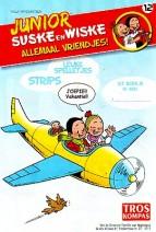 Cover: Zwempret, notenleer/ baaihaai - Junior Suske en Wiske  bijlage troskompas