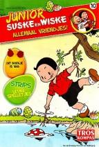 Cover: Boze maskers/ griezelmuizen - Junior Suske en Wiske  bijlage troskompas