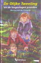 Cover: De olijke tweeling en de losgeslagen paarden - De olijke tweeling