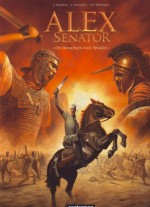Cover: Nr 4 De demonen van Sparta - Alex senator