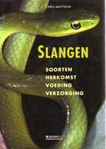 Cover: Slangen, soorten, herkomst, voeding en verzorging - Chris mattison